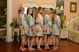 bridesmaids robes cheap turquoise gifts for to be robe personalized