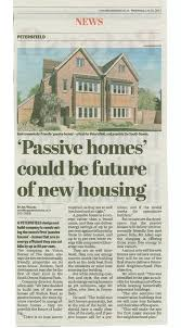 6a passive houses featured in petersfield post 6a vision homes ltd