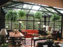 Interior Design Concepts Sunroom With Plants As An Interior Design Concept For Living Room