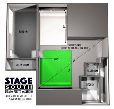 studio layout studio layout stage south studio green screen cyc wall
