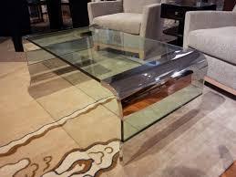Glass Waterfall Coffee Table Waterfall Coffee Table Large Image For Glass Waterfall Coffee