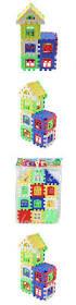 high quality creative cheap diy craft gift house building blocks