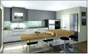 cuisine avec ilot central pour manger cuisine en u ouverte cuisine en u avec ilot central 100 idaces de