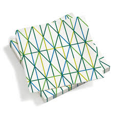 the paper napkin grid 40 x 40cm by vitra