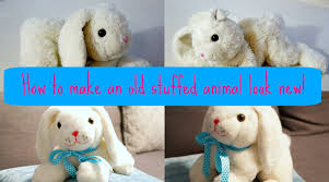 How To Remove Cat Hair From Clothes How To Make An Old Stuffed Animal Look New Again Youtube