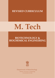 m tech biotechnology and biochemical engineering