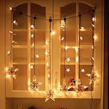amazon com twinkle star 12 stars 138 led curtain string lights
