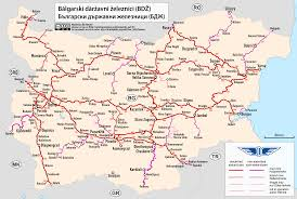 Usa Rail Network Map by File Railway Map Of Bulgaria Png Wikimedia Commons
