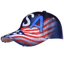 Usa Flag Hats Limited Edition Hand Painted Usa Flag Cap Shoplifo Com