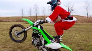 where can i ride my motocross bike santa stole my dirt bike youtube