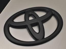 toyota logo frs gt86 matte black toyota emblem rear 2013 2016 fr s gt 86