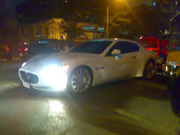 maserati brown spotted white maserati gran turismo team bhp