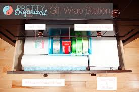 wrapping station ideas gift wrapping ideas how to organize