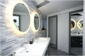 Illuminated Bathroom Wall Mirror Lighted Bathroom Wall Mirror Mirror Design
