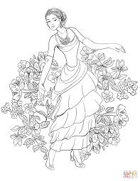 debutante coloring page free printable coloring pages