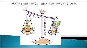 Sell My Annuity Annuity Or Lump Sum What Is The Best Lump Sum Or Annuity Youtube