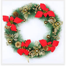 Decoration For Christmas Online by Flower Door Wreath Online Flower Door Wreath For Sale