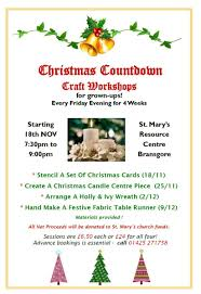 st mary u0027s crafty christmas countdown u2013 benefice of bransgore and