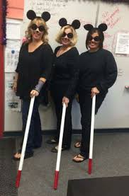 3 Blind Mice Costume Three Blind Mice For Halloween At Work Today U2026 Mitch 21st
