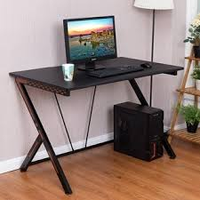 Gameing Desk Costway Gaming Desk Computer Desk Pc Laptop Table Workstation Home