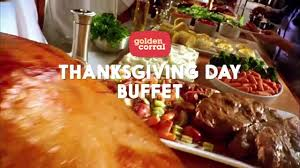 golden corral thanksgiving day buffet 2016 tv commercial ad advert
