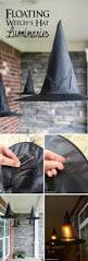 14 homemade halloween decorations 4 floating witch hat diy 14 homemade halloween decorations 4 floating witch hat