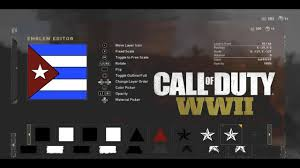Position Of Flags Cuban And Puerto Rican Hd Flag Emblem Call Of Duty Ww2 Youtube