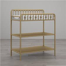Iron Changing Table Seeds Monarch Hill Metal Changing Table Gold