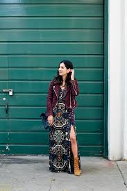 how to wear a maxi dress in the winter