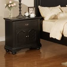 black lacquer nightstand wayfair