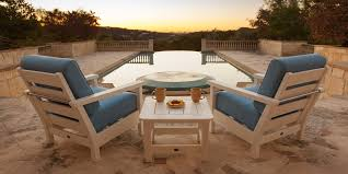 Outdoor Material For Patio Furniture by Recycled Plastic Patio Furniture Patioliving
