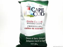 chips taste sweet and spicy jalapeno cape cod s bourassa ltd