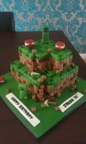 27 minecraft cakes images minecraft party