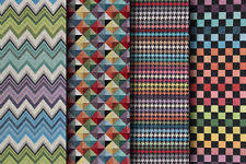 Multi Coloured Upholstery Fabric Geometric Fabric Ebay