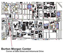 purdue map map to the burton center purdue