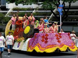 hawaiian floral parade float parade floats oahu and