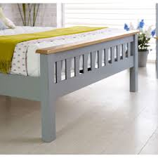 buy birlea new hampshire grey and oak high end bed frame online