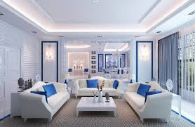blue and white home decor blue and white living room decorating ideas of exemplary attractive