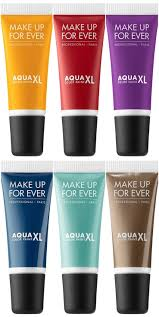 make up for ever aqua xl color paint shadow gives us some high