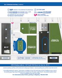 San Jose State Campus Map by Sjsuspartans Com San Jose State University Official Athletic Site