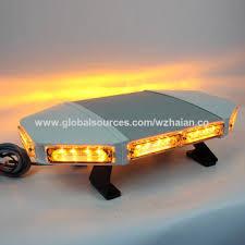 amber mini light bar china amber mini light bar with brackets and control by display