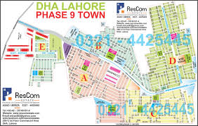 Yahoo Maps Com Dha Maps Residential Commercial Real Estate Lahore Pakistan