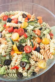 italian pasta salad tastes better from scratch
