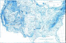Large Maps Of The United States by Physiographic Maps Of The United States