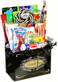 thank you baskets retro candy gifts and vintage candy assortments thank you candy