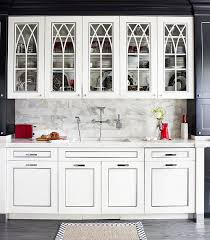 Kitchen Cabinet Doors With Glass Distinctive Kitchen Cabinets With Glass Front Doors Traditional Home