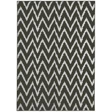 Black And White Rugs Mainstays Distressed Zig Zag Area Rug Walmart Com