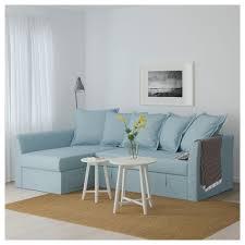light blue sofa bed ikea holmsund corner sofa bed orrsta light blue corner tiny