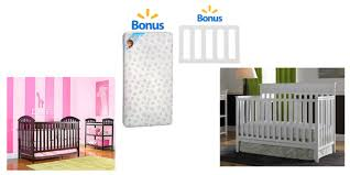Walmart Crib Mattresses Walmart Free Mattress Or Toddler Rail With Crib Purchase The