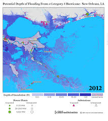 Where Is New Orleans On The Map by Lights Out Storm Surge Blackouts And How Clean Energy Can Help
